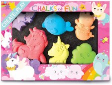 Chalk Critters-Unicorns