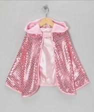 Pink Sequins Sparkle Cape Reve