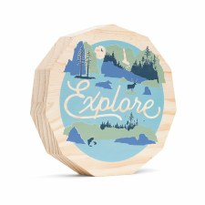 Medium Explore Plaque - Compendium