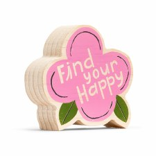 Find Your Happy Mini Plaque - Compendium