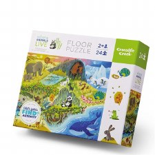 Puzzle-24 Piece 123 Zoo