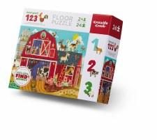 Puzzle-24 Piece Barnyard 123
