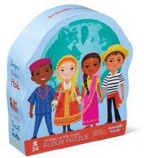 Puzzle-36 Piece Children World