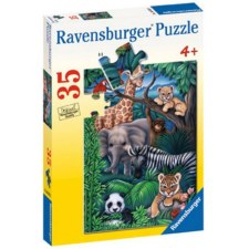 Puzzle-Animal Kingdom 35 pc.