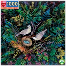 Puzzle Birds in Fern 1000 Pc