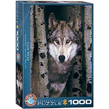 Puzzle-Gray Wolf 1000 Piece