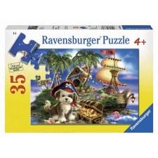 Puzzle-Puppy Pirate 35 pc.