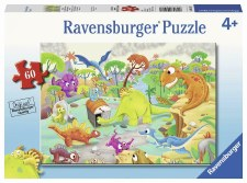 Puzzle-Time Travel Dino 60 pc.