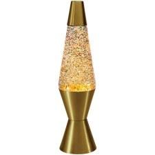 Rainbow Glitter Lava Lamp 14.5