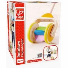 Rainbow Push Toy