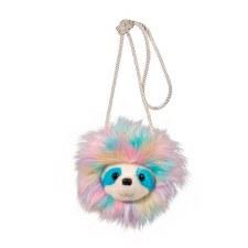 Rainbow Sloth Crossbody Bag