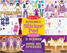 Reusable Stickers-Dress Up!