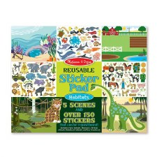 Reusable Stickers-Habitats