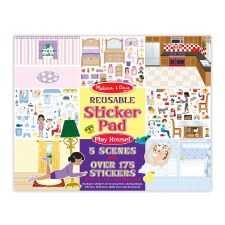 Reusable Stickers-Play House!