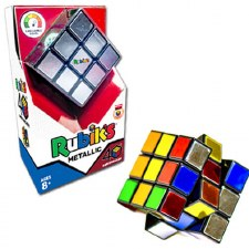 Rubik's 40th Edition Metallic