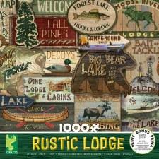 Rustic Lodge 1000 Piece