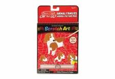 Scratch-Art Animal Families