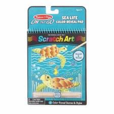 Scratch-Art Sea Life