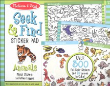 Seek N Find Sticker-Animal