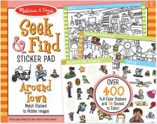 Seek N Find Sticker-Around Tow