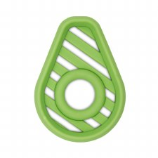 Chew Crew Silicone Baby Teether - Avocado