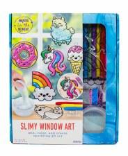 Slimy Window Art