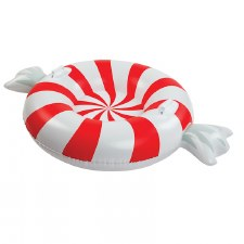 Giant Peppermint Twist Snow Tube - BigMouth Inc