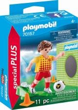 Soccer Player w/Goal