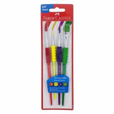 Soft Grip Brushes (4)