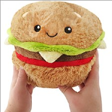 Squishable Mini Hamburger