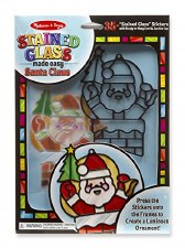 Stained Glass-Santa Claus