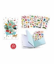 Sticker Notebooks-Sarah