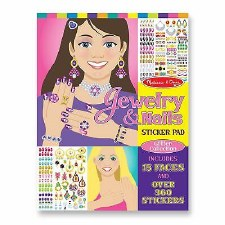 Sticker Pad-Jewelry and Nails