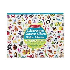 Sticker Pad-Seasons/Celebrate