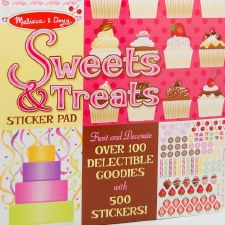 Sticker Pad-Sweets and Treats