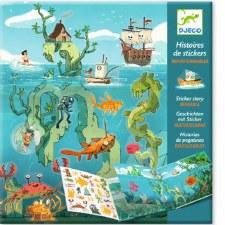 Sticker Stories-Adventures Sea