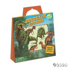 Sticker Tote-Dinosaurs