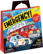 Sticker Tote-Emergency Vehicle