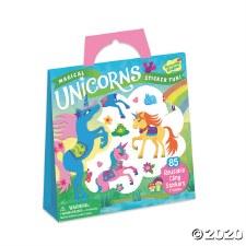 Sticker Tote-Magical Unicorns