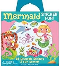 Sticker Tote-Mermaids