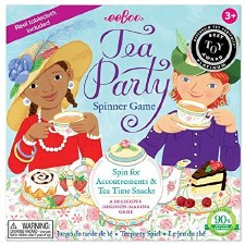 Tea Party Spinner Game - eeBoo