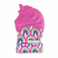Itzy Mitzies Teething Mitt - Unicorn