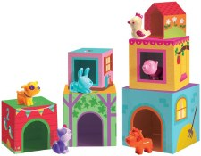 Topanifarm Blocks Toy - Djeco