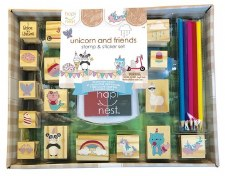 Unicorn and Friends Stamp Set