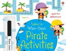 Wipe-Clean Pirate Activities