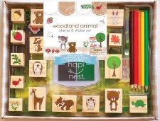 Woodland Animal Stamp Set
