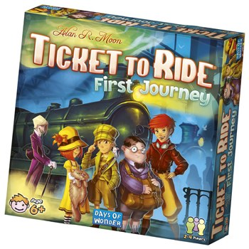 Ticket To Ride:First Journey