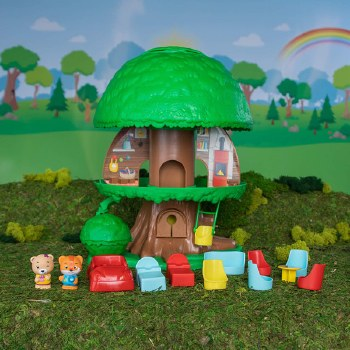 Fat Brain Toys Timber Tots TreeHouse