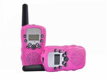 Walkie Talkie Set-Pink