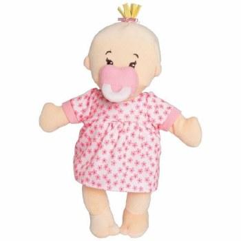Wee Baby Stella Peach Doll - Manhattan Toy